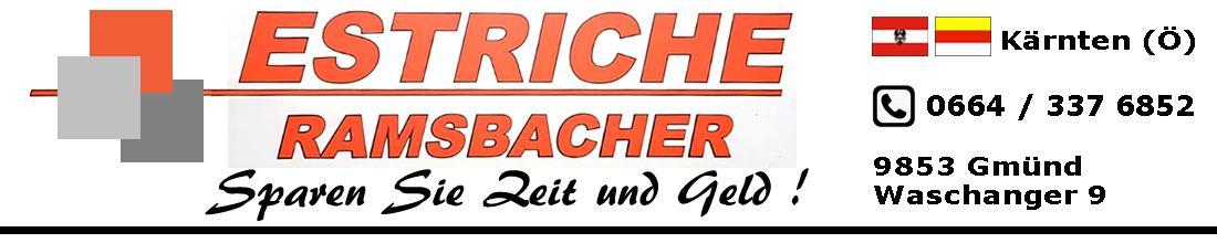 Estriche Ramsbacher